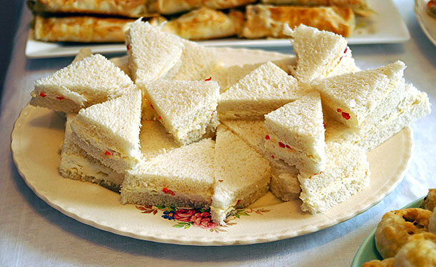 Pimento Cream Cheese Sandwiches