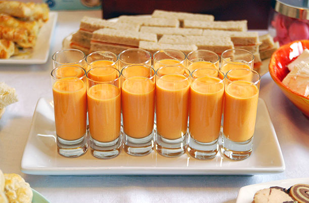 Carrot Soup Shooters