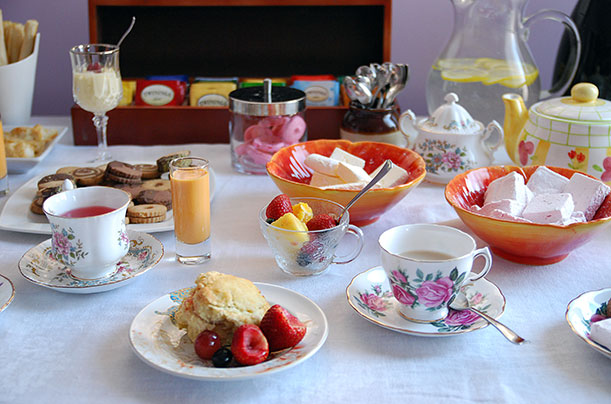 Tea Party Food Table
