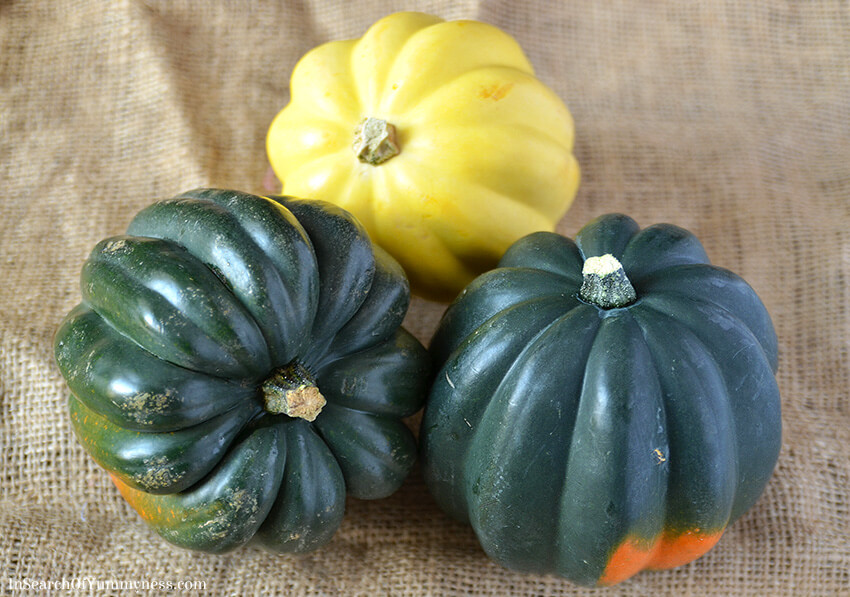 Varieties of Acorn Squash | InSearchOfYummyness.com