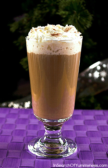 German Chocolate Cake Flavoured Coffee Recipe | InSearchOfYummyness.com