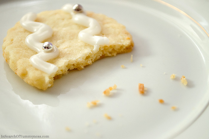 Eaten Shortbread Cookie | InSearchOfYummyness.com