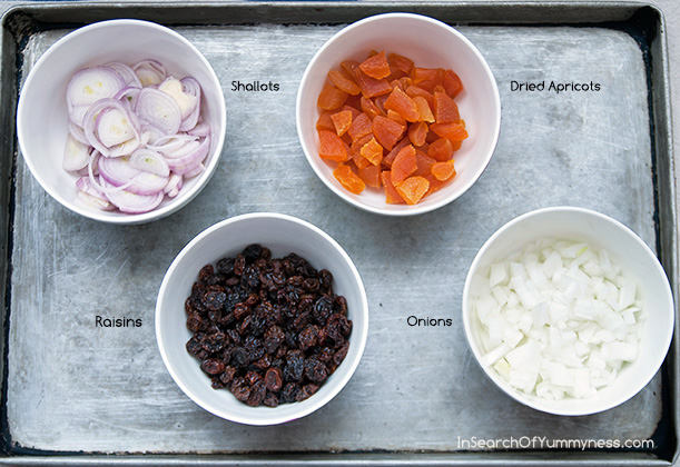 Ingredients for Moroccan-Inspired Chicken Stew Recipe | InSearchOfYummyness.com #mapleleafprime