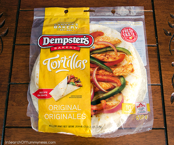 Dempster's Bakery Tortillas | InSearchOfYummyness.com