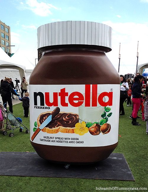 Nutella 50th Anniversary Event in Toronto | InSearchOfYummyness.com