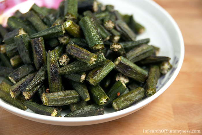 Oven-Roasted-Okra