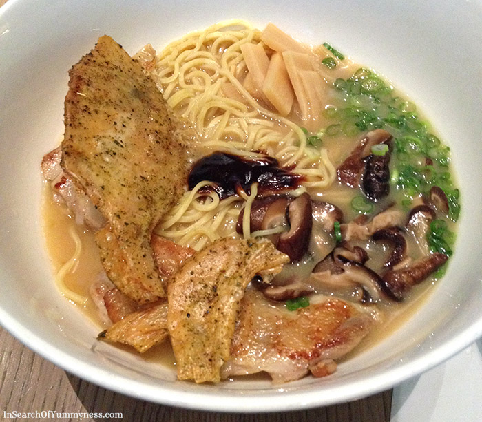 Smoked Chicken Ramen from Momofuku Noodle Bar in Toronto | InSearchOfYummyness.com