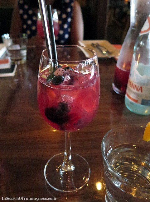 Sangria from Lee Restaurant in Toronto | InSearchOfYummyness.com