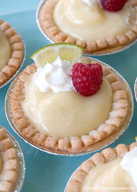Sweet Citrus Tarts Recipe | In Search Of Yummy-ness | #tenderflake #picnic #dessert