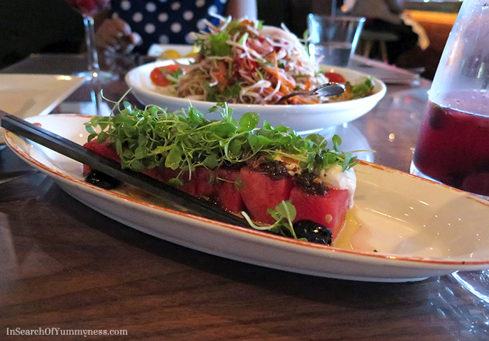 Watermelon & Feta Salad from Lee Restaurant in Toronto | InSearchOfYummyness.com