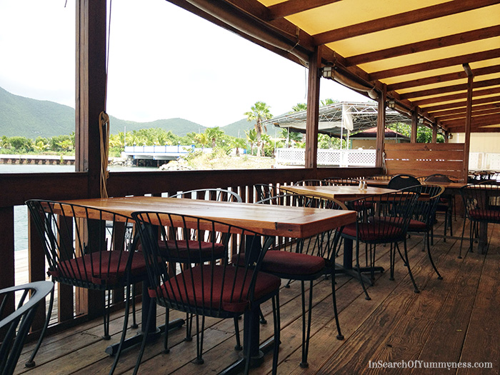 SkipJacks Restaurant by the water in St. Maarten (2012) | In Search Of Yummy-ness