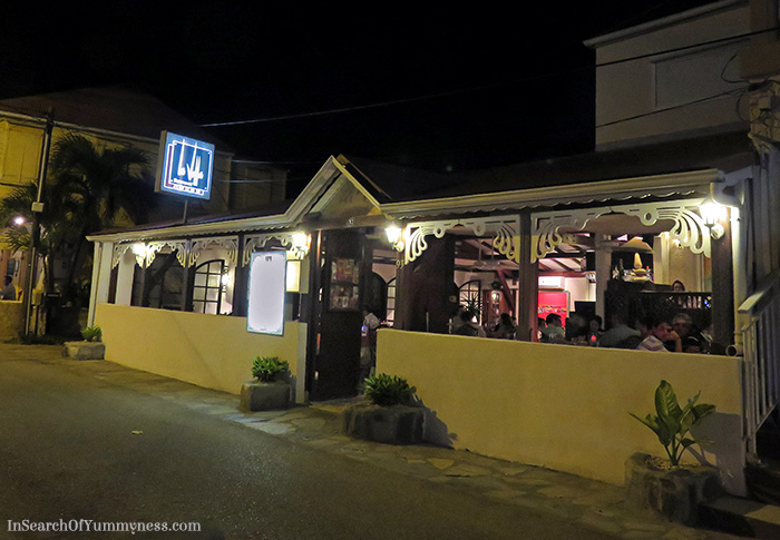 La Villa Restaurant in St. Martin | In Search Of Yummy-ness