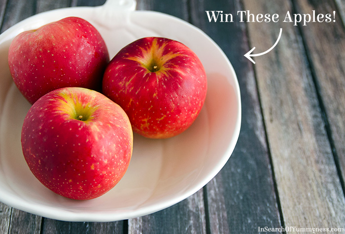 Enter to win a basket of SweeTango apples from In Search Of Yummy-ness