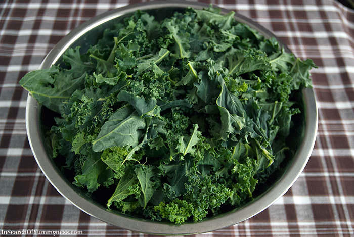 Raw Kale | In Search Of Yummy-ness