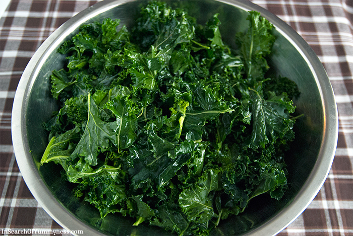 Massaged Kale | In Search Of Yummy-ness