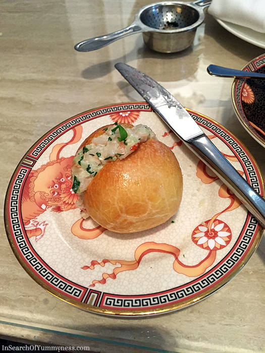 Lobster Brioche from the Nutcracker High Tea at the Shangri-La Hotel in Toronto | In Search Of Yummy-ness