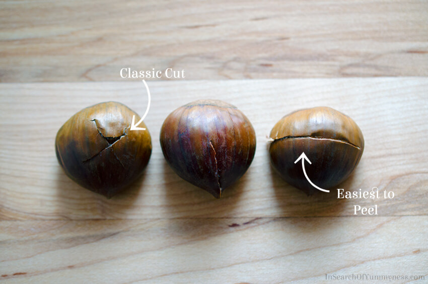 How to score chestnuts | InSearchOfYummyness
