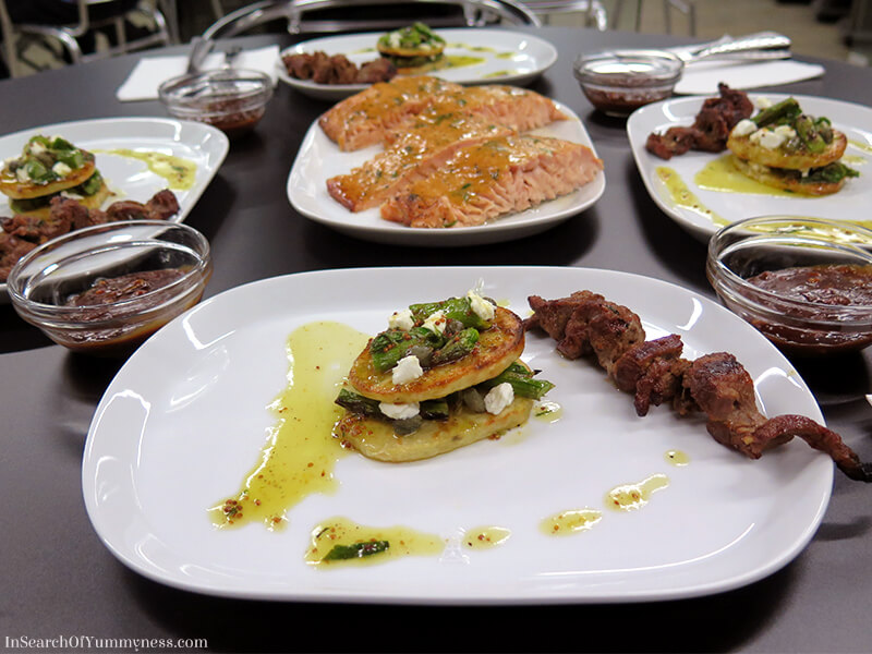 Our final dishes from the Weber Grill Academy in Ontario | In Search Of Yummy-ness