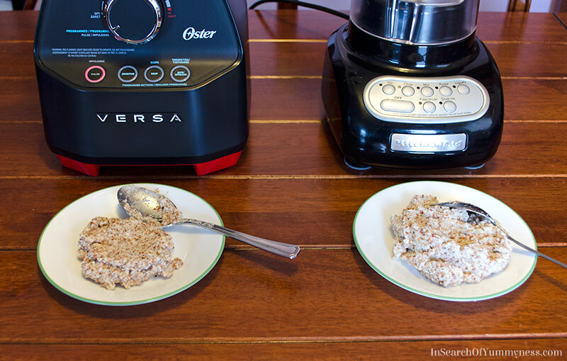 The Oster Versa makes great almond milk | InSearchOfYummyness.com