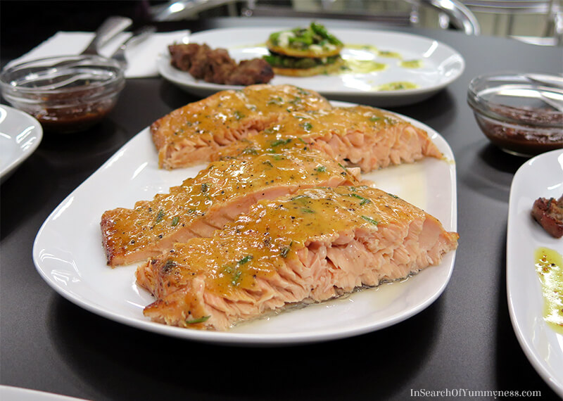 Cedar-Planked Salmon | In Search Of Yummy-ness