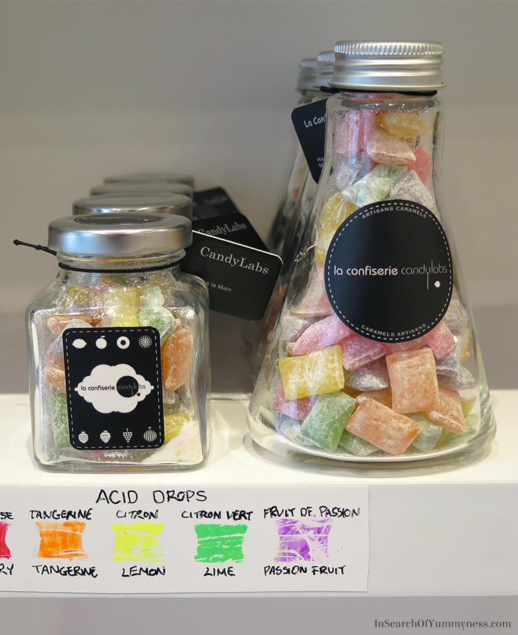 Acid Drop Sour Candies from CandyLab in Montreal | InSearchOfYummyness.com