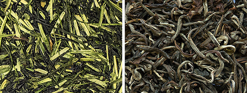 Green loose leaf tea | InSearchOfYummyness.com