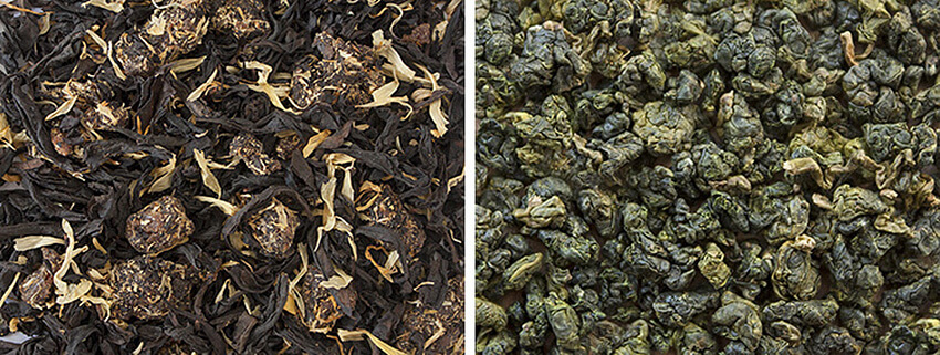 Oolong loose leaf tea | InSearchOfYummyness.com