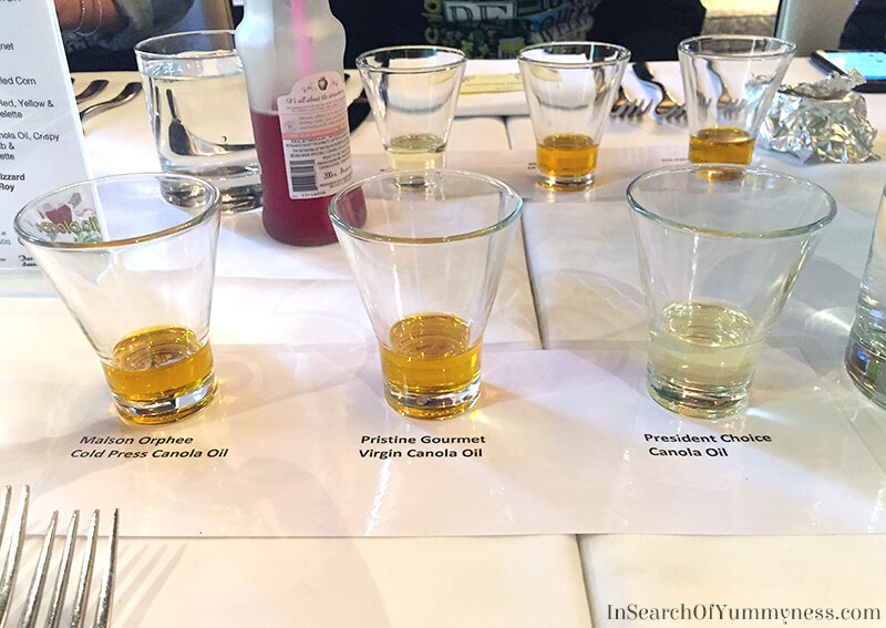 Canola Oil Tasting at The Windsor Arms Hotel in Toronto | InSearchOfYummyness.com