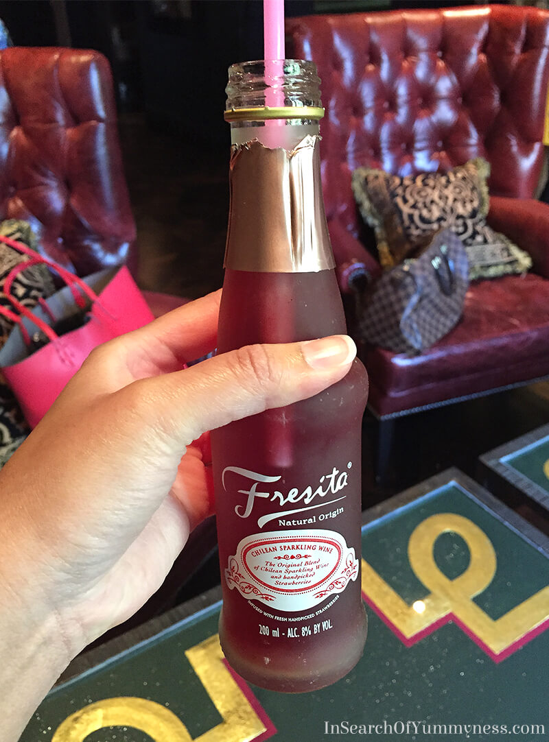 Fresita Chilean Sparkling Wine at The Windsor Arms Hotel in Toronto | InSearchOfYummyness.com