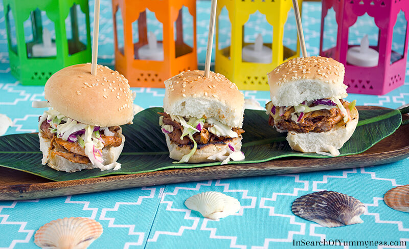 Grace Jerk Chicken Sliders| Grace Foods Canada | InSearchOfYummyness.com