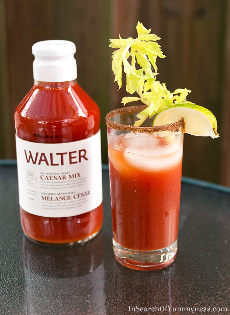 For a better Canadian Caesar, try using Walter all-natural Caesar Mix. It has no MSG, unlike other popular brands.