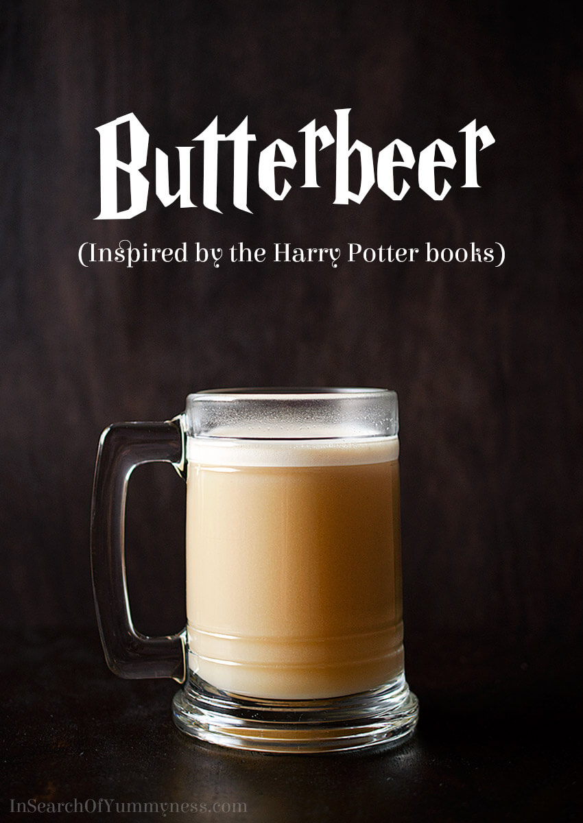 You don't have to travel to a Harry Potter theme park to enjoy the sweet taste of Butterbeer! You can make this version at home with butterscotch, cream soda and ice cream. Get the recipe at InSearchOfYummyness.com