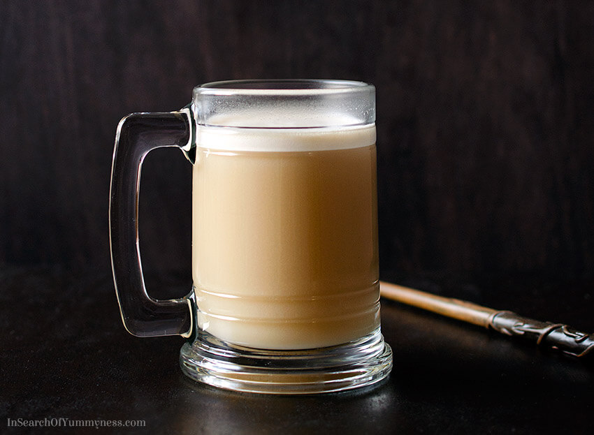 Butterbeer recipe inspired by the Harry Potter books | In Search Of Yummy-ness