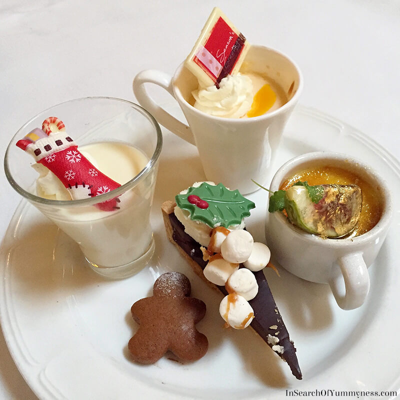 Desserts from Sunday Brunch at the Windsor Arms Hotel in Toronto | InSearchOfYummyness.com