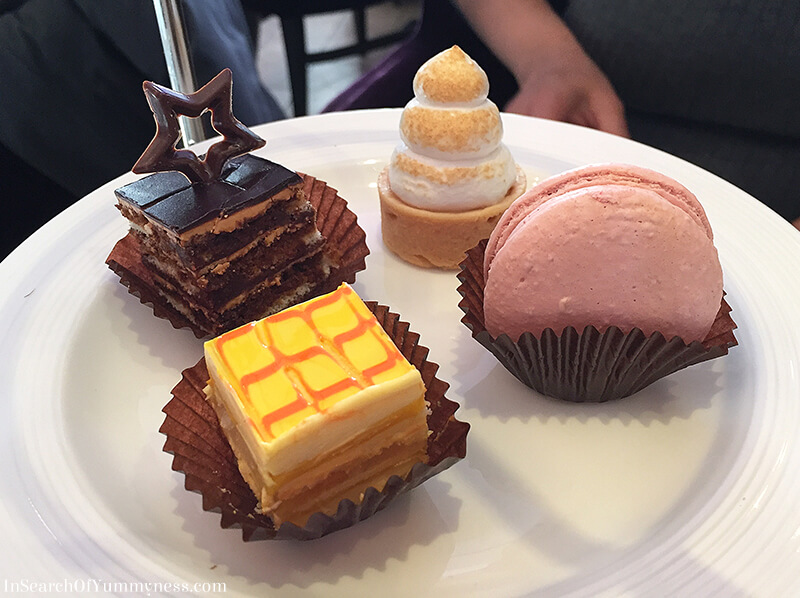 Petits Fours from the Afternoon Tea at the Windsor Arms Hotel in Toronto | InSearchOfYummyness.com