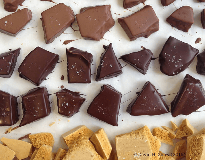 David's Chocolates and Buckwheat Honeycomb Toffee | InSearchOfYummyness.com