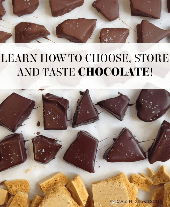 David H. Chow, Pastry Chef and Chocolatier, shares his best tips for selecting, storing and tasting chocolate. You won't believe what flavour combinations he enjoys!