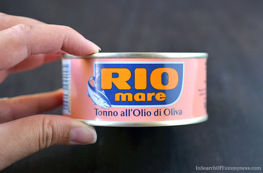 Rio Mare Tuna packed in olive oil | InSearchOfYummyness.com
