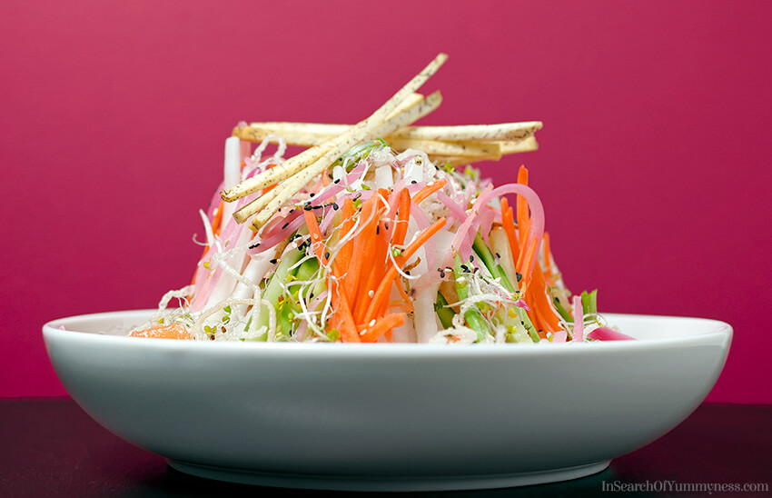 Singaporean Style Slaw Recipe | InSearchOfYummyness.com