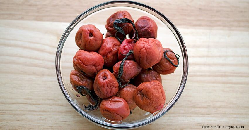 What is Umeboshi? | InSearchOfYummyness.com