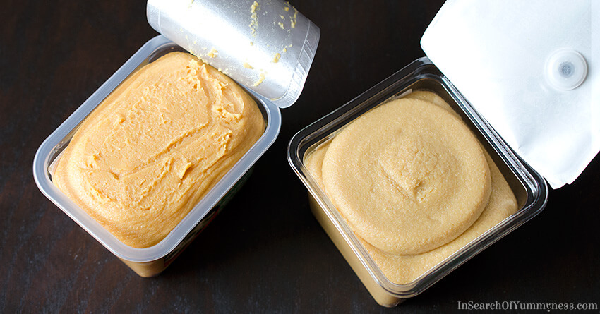Shelf stable vs organic miso paste | InSearchOfYummyness.com