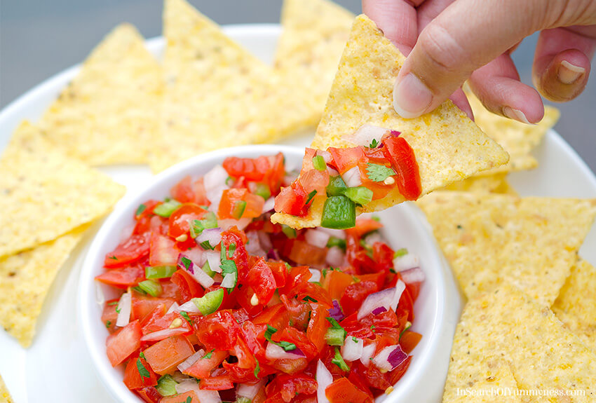 Pico de Gallo Salsa | In Search Of Yummy-ness