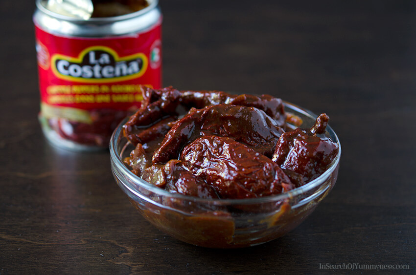 Chipotle Peppers in Adobo Sauce | InSearchOfYummyness.com