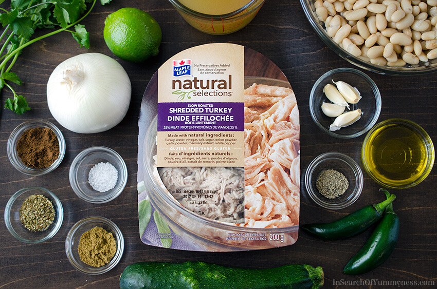 Maple Leaf Natural Selections Slow Roasted Shredded Turkey | InSearchOfYummyness.com | Sponsored