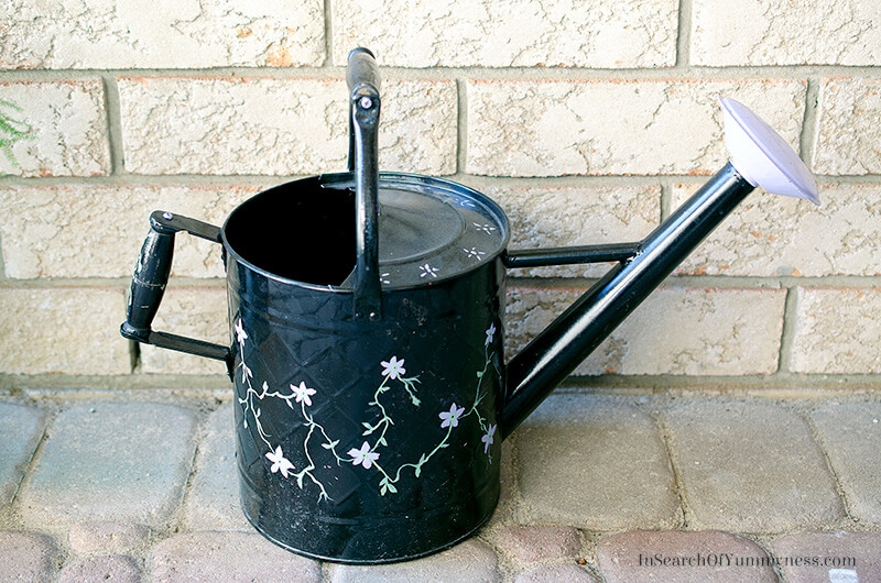 Watering can | InSearchOfYummyness.com