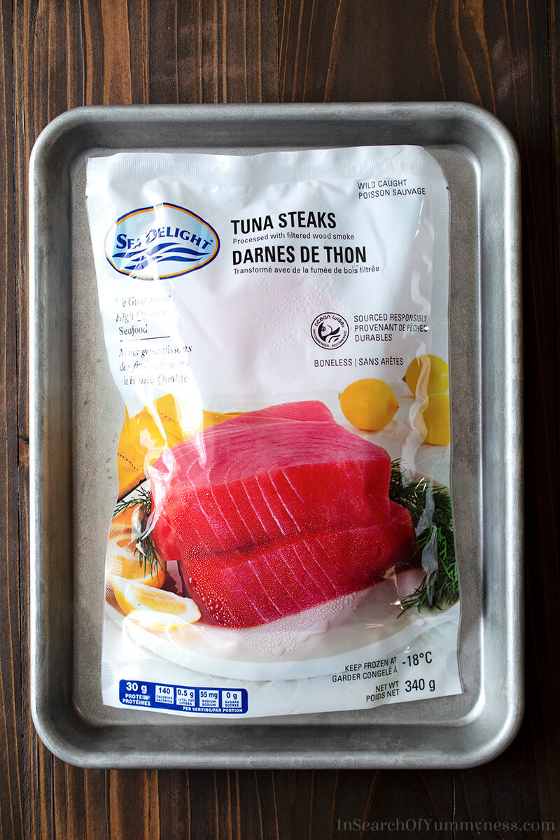 Frozen tuna steaks | In Search Of Yummy-ness