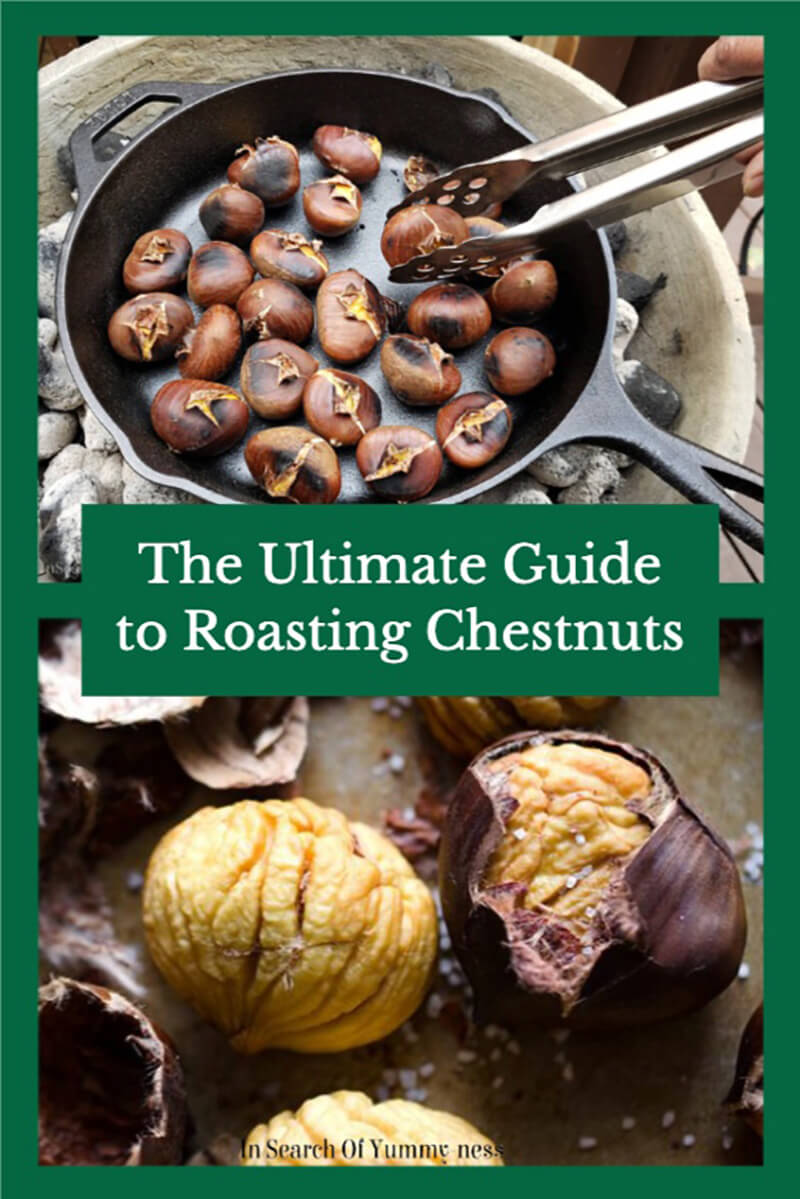 The ultimate guide to roasting chestnuts at home. | InSearchOfYummyness